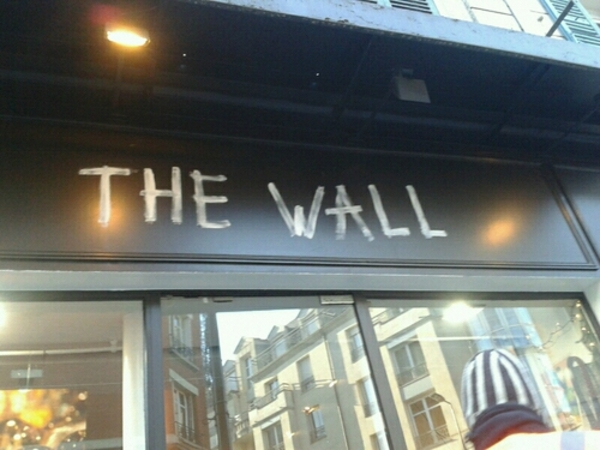 THE WALL,