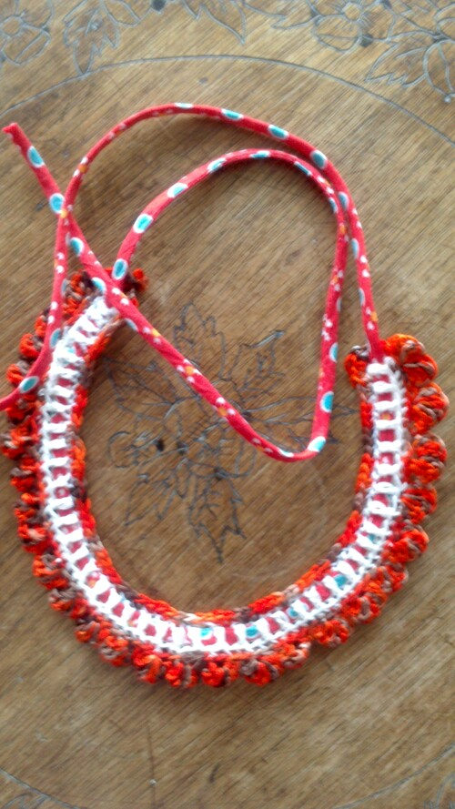 Collier coquillage pour Anik