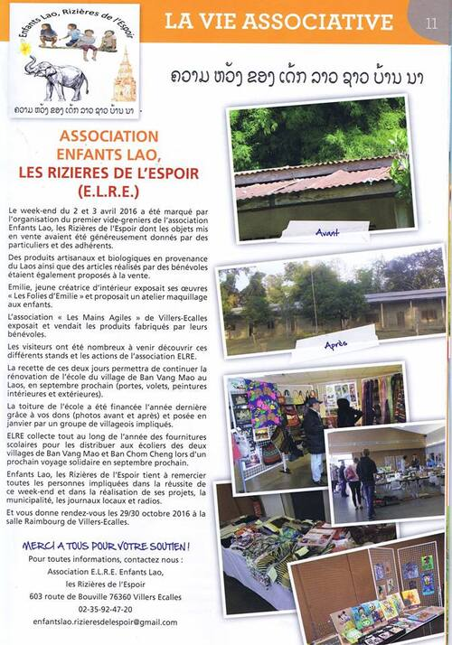 Article journal municipal - mai 2016