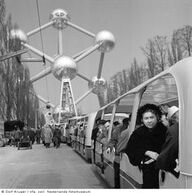 Expo 58 / Atomium   exposition universelle, expo universelle, expo