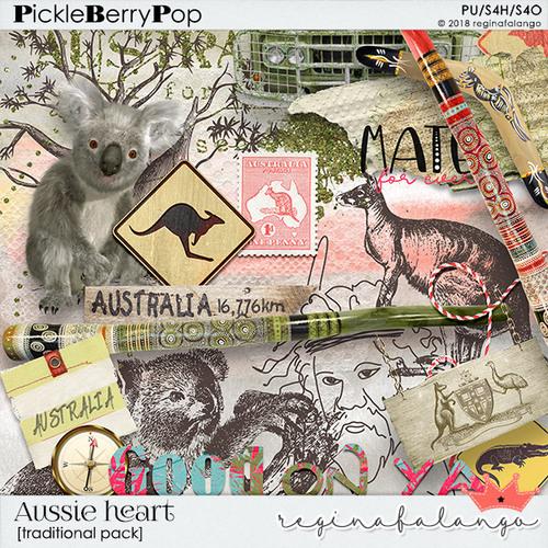 Aussie heart