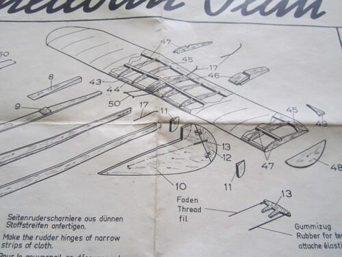 Plans Vintage Graupner