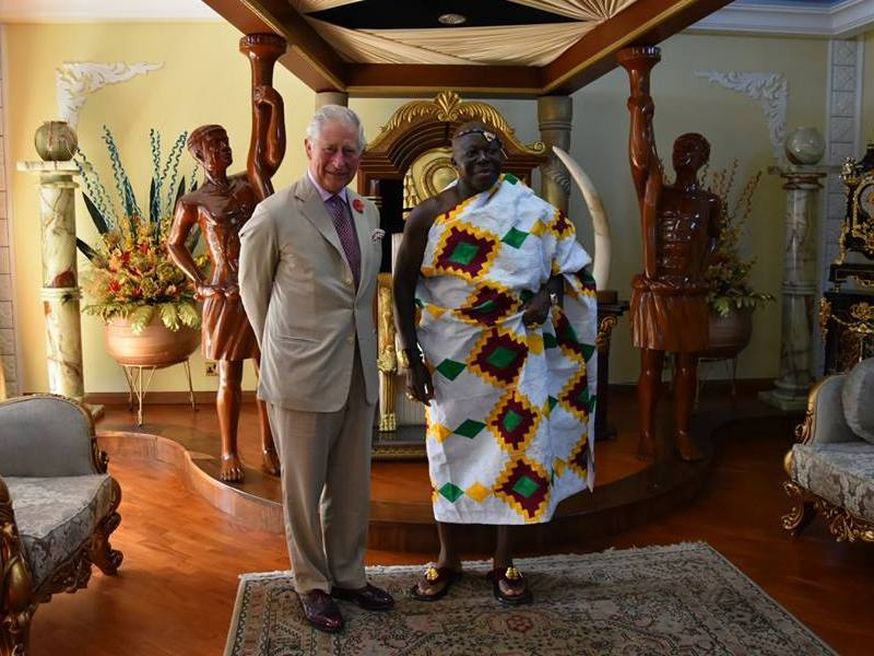 Kumasi and meeting The Asantehene, Otumfuo Osei Tutu II