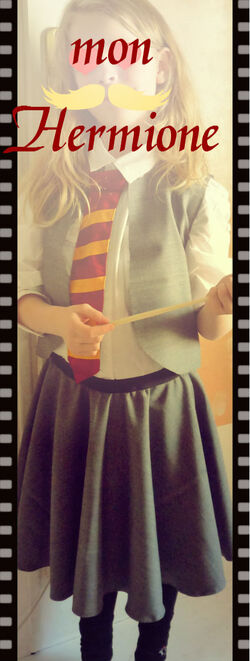 Costume d'Hermione Granger diy