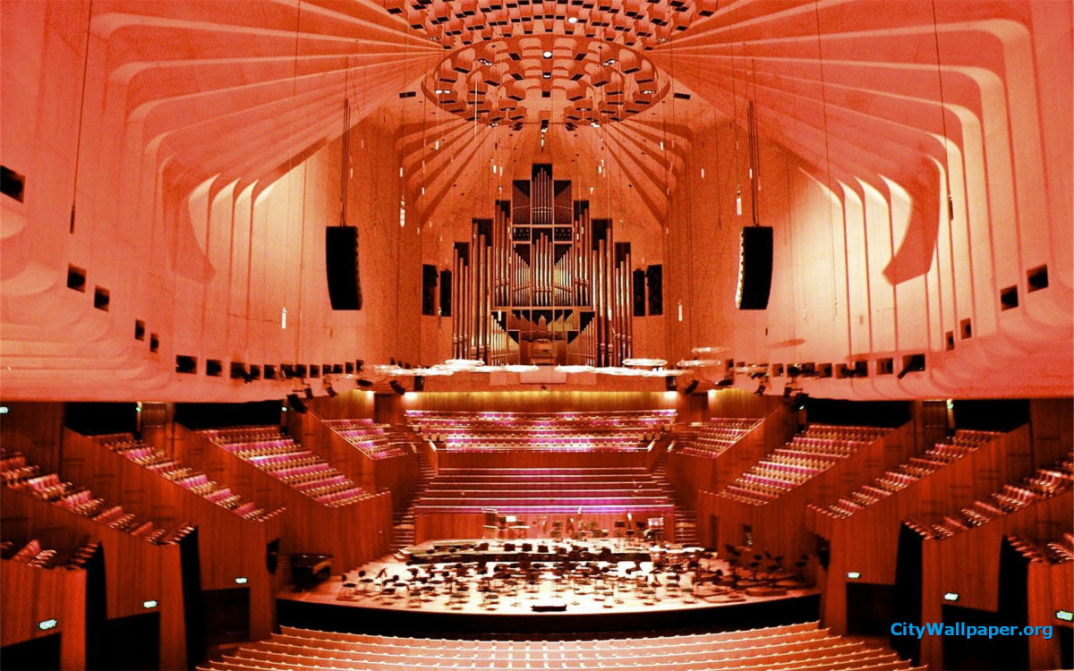 Sydney Opera House Interior Architecture