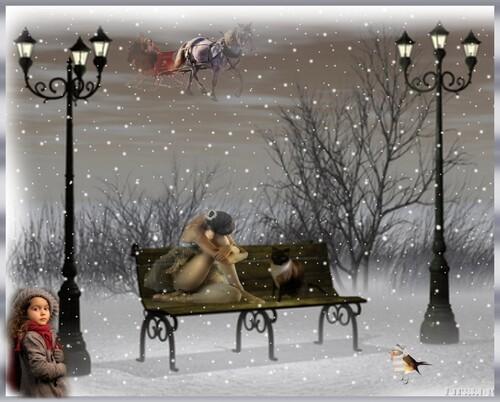 Rêverie d'hiver en Fond d'écran