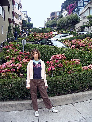 San Francisco Lombard Street Charline