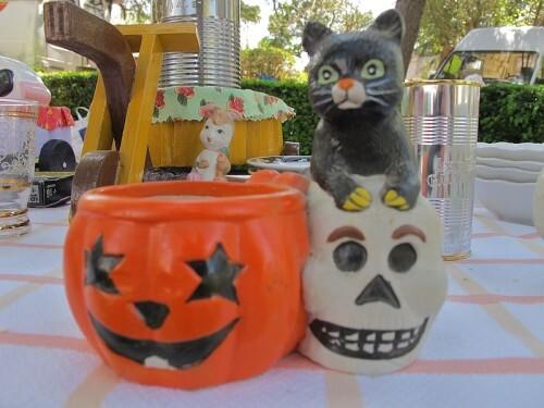 Halloween bougie