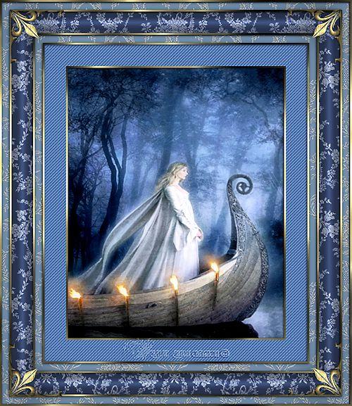 Cadre ange et fée 20
