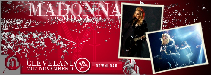 The MDNA Tour - Cleveland - Pictures