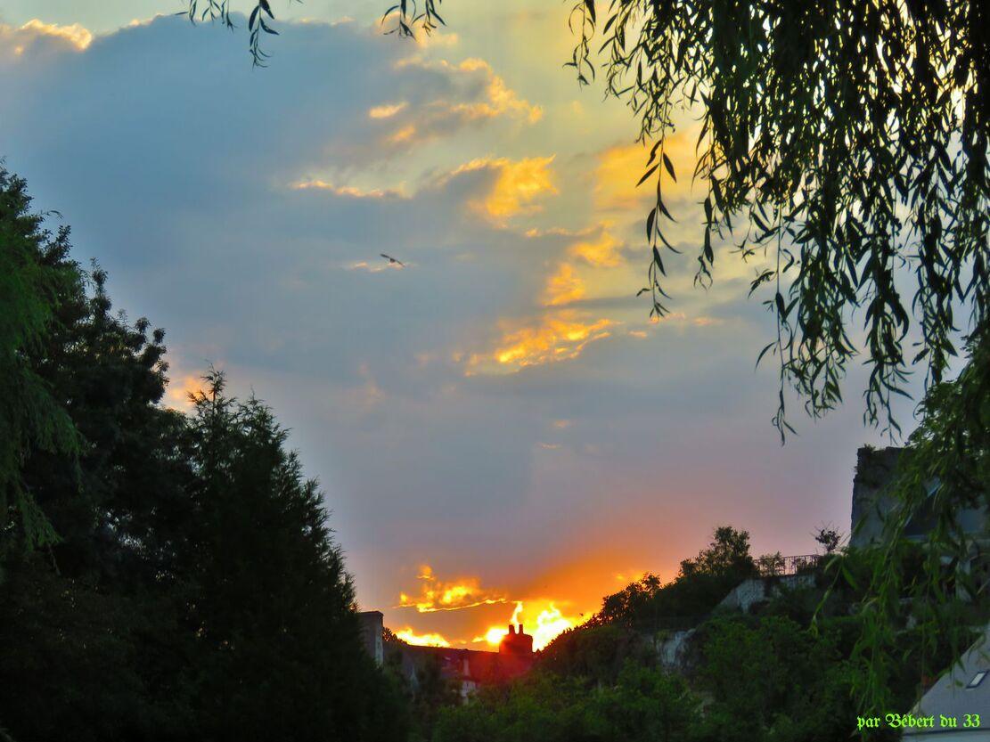 le ciel à Montrésor