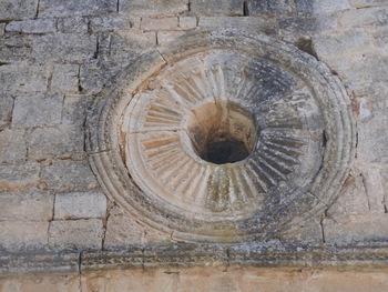 Détails de l'oculus sur la façade
