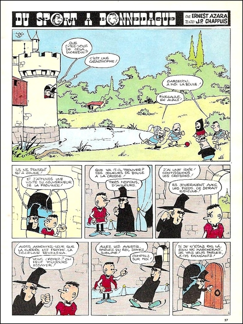 5 - Azara dans Tintin et Spirou