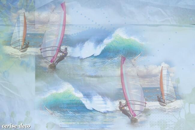 fond de blog et bannières : les sports de glisse d'été