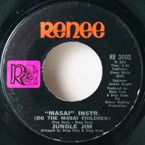 1972 : Single SP Renee Records RE 3002 [ US ]