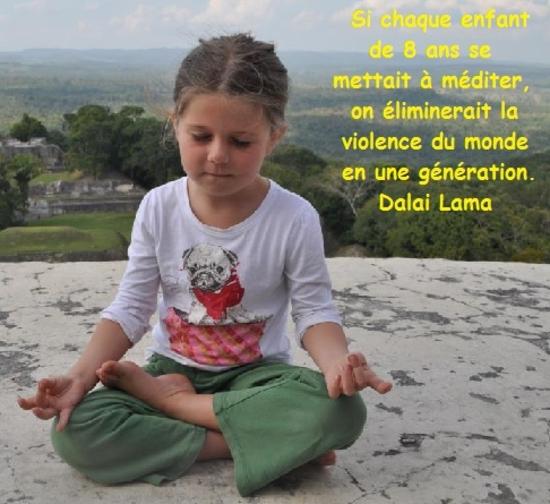 si chaque enfant meditait