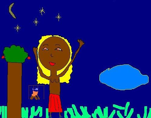 Mona au Mali