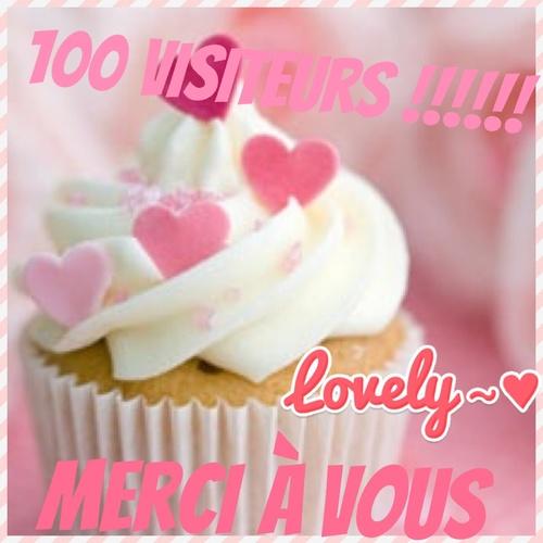 100 Visiteurs !!!!!!!!!! Merciiiiiii