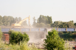 Reconstruction du pont de Rapilly