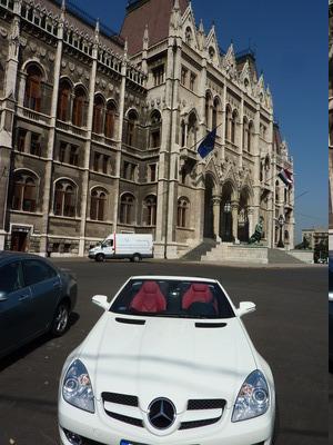 Carte postale d'un flâneur à Budapest - postal del paseante por Budapest