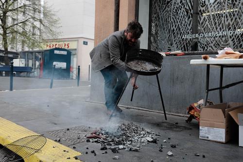 Journée street art et barbecue au passage Forceval