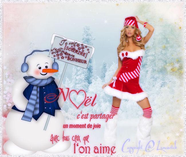cartes de Noël pour Mail a vos amies (s) et famille ♥