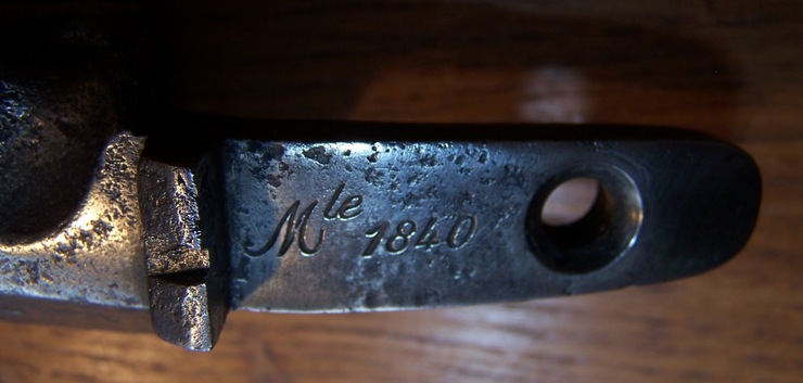 Mon fusil modèle 1840 raccourci pour la Garde Nationale