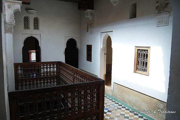 Medersa Ben Youssef, le premier étage