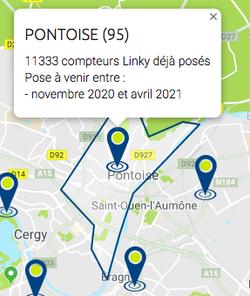 Cergy-Pontoise : flash bleu et panne électrique en région parisienne
