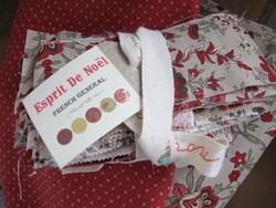 """Plaid """"Esprit de Noël"""""""