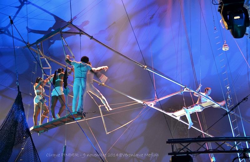 """Cirque Pinder dans Pinder fête ses 160 ans ! """"The Flyning Black Street"""""""