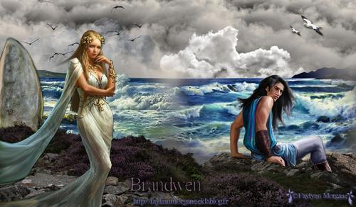 Brandwen la plus belle femme du monde