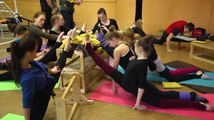 dance ballet kherson ukraine open lesson group actobatic