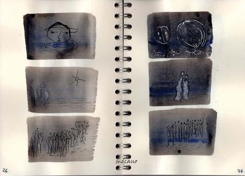 45 - carnet poussière de lune