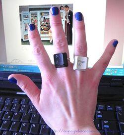 [D.I.Y] Bijoux en touches de clavier ! ♥