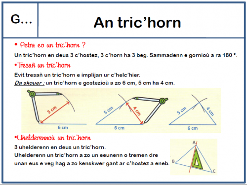 Leçons de maths cycle 3