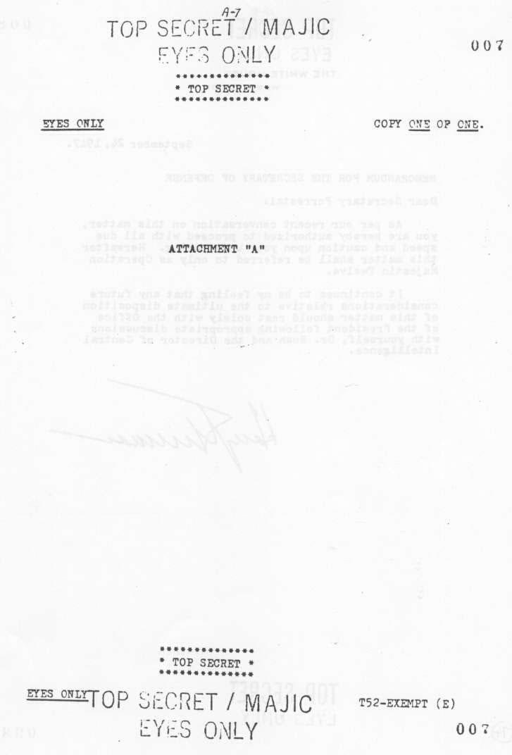 Page 7 - MJ12 - Un comité d'étude des phénomènes OVNIS - Ufologie