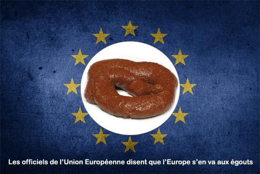 « COMPTE À REBOURS VERS LA FIN DE EUROPE »