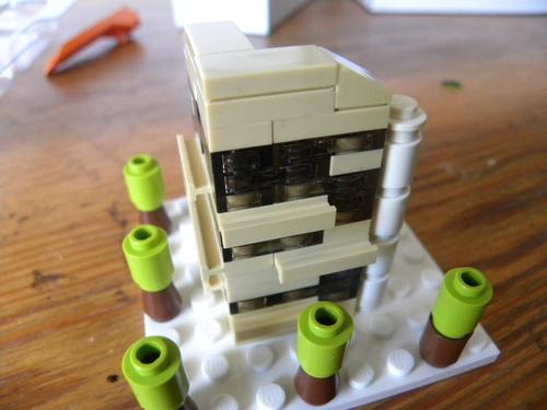 "Petit projet ""Micro-immeuble"""