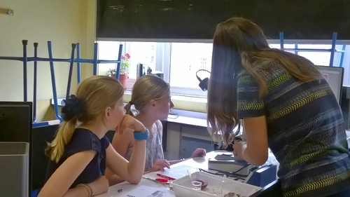 Journée de la Science avec les lycéens
