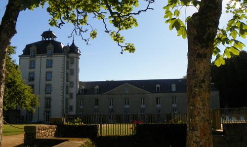 Le parc et le château de Kéravon