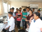 Sortie de la classe de 3ème à l'hôpital Be Atsimo