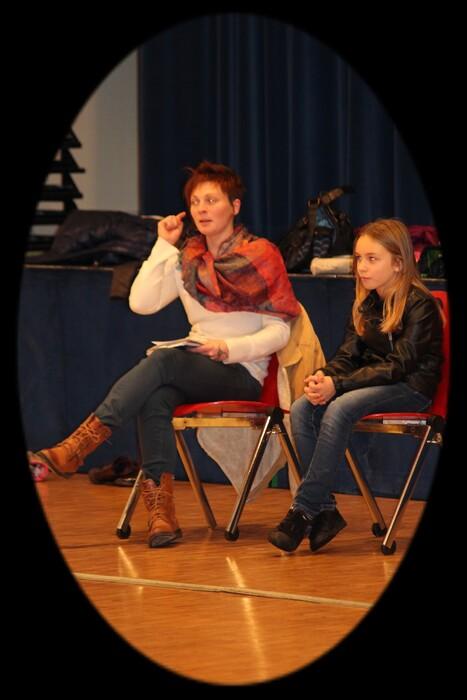 Le cours de théâtre