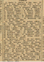 1950 Champion d'Algerm Amiri Lakhdar en Cadets