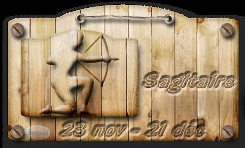 CADEAU Signes Astrologiques Bois par Jopel