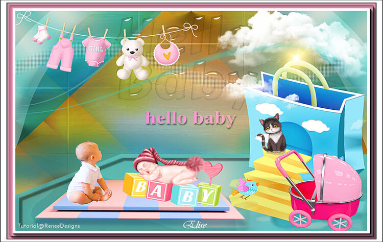 Hello Baby   de Renéegraphisme