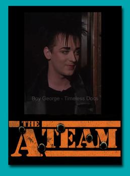 BOY GEORGE - 1985 - A-TEAM