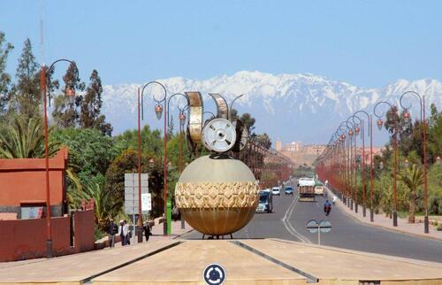 Sortie est de Ouarzazate