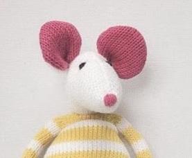 Petite souris tricotées....