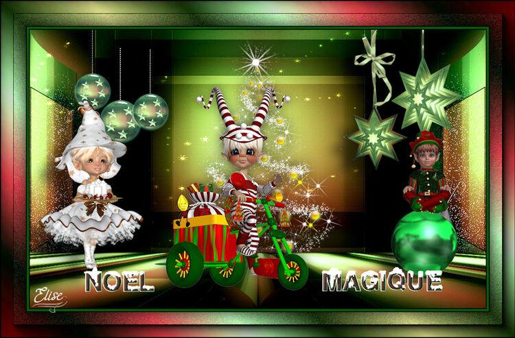 Noël Magique de Saturnella  psp